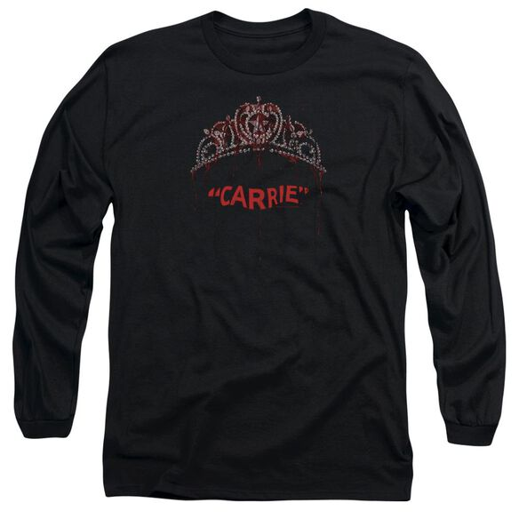 Carrie Prom Queen Long Sleeve Adult T-Shirt