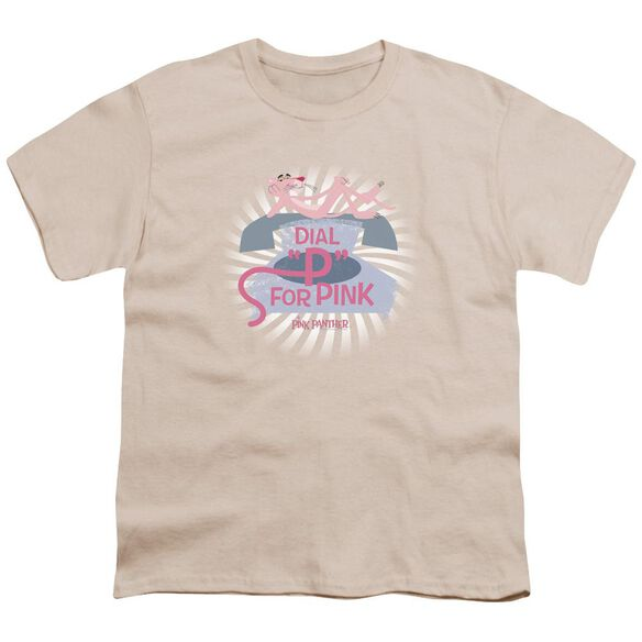 Pink Panther Dial P For Pink Short Sleeve Youth T-Shirt