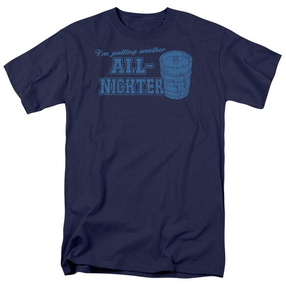 All Nighter Short Sleeve Adult T-Shirt