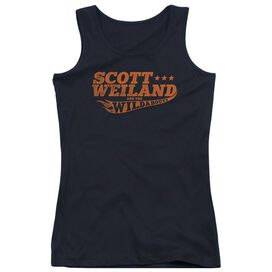 Scott Weiland Logo Juniors Tank Top