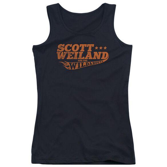 Scott Weiland Logo Juniors Tank Top