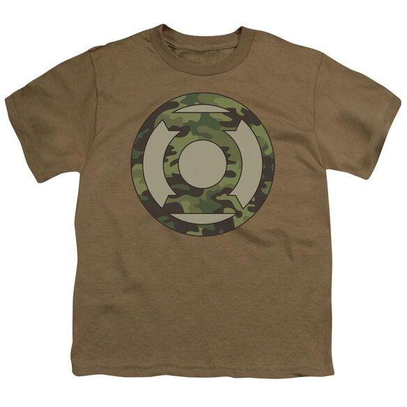 Lantern Camo Logo Short Sleeve Youth Safari T-Shirt