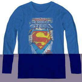 SUPERMAN LEGENDARY-WOMENS LONG SLEEVE