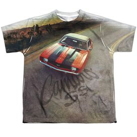 Chevrolet Camaro Ss Short Sleeve Youth Poly Crew T-Shirt