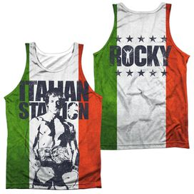 Rocky Stallion (Front/back Print)-adult 100% Poly
