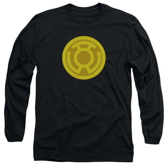 Green Lantern Yellow Symbol Long Sleeve Adult T-Shirt