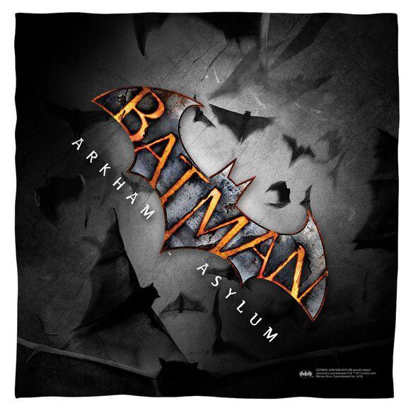Batman Arkham Asylum Logo Bandana