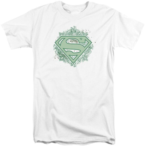 Superman Ornate Shield Short Sleeve Adult Tall T-Shirt