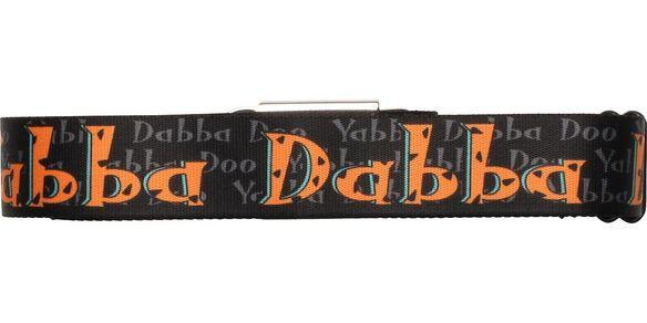 Flintstones Fred Yabba Dabba Doo Black Seatbelt Mesh Belt