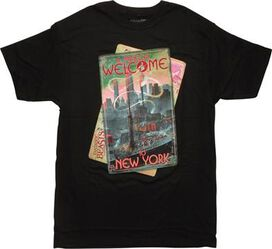 Fantastic Beasts Magical Welcome to NY T-Shirt