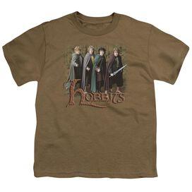 Lor Hobbits Short Sleeve Youth Safari T-Shirt