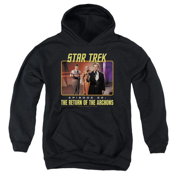 Star Trek Episode 22 Youth Pull Over Hoodie