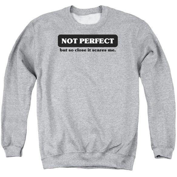 Not Perfect Adult Crewneck Sweatshirt Athletic