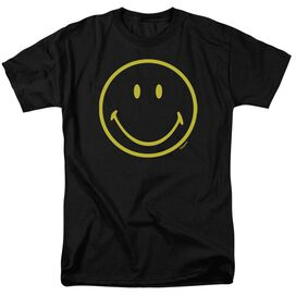 Smiley World Yellow Line Smiley Short Sleeve Adult T-Shirt