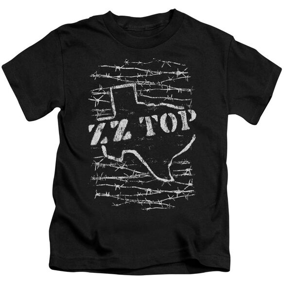 Zz Top Barbed Short Sleeve Juvenile T-Shirt