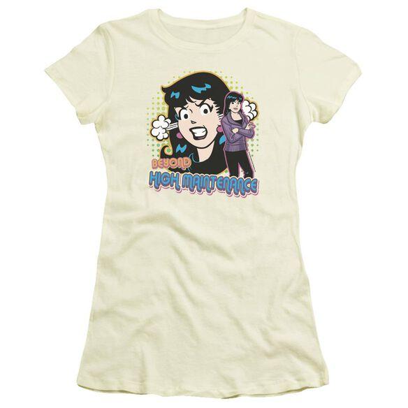 Archie Comics High Maintenance Short Sleeve Junior Sheer T-Shirt