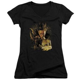 Mirrormask Queen Of Shadows Junior V Neck T-Shirt