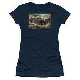 The Hobbit Hobbit & Company Short Sleeve Junior Sheer T-Shirt