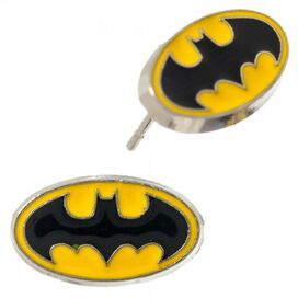 Justice League Logos 4 Pair Earrings Set