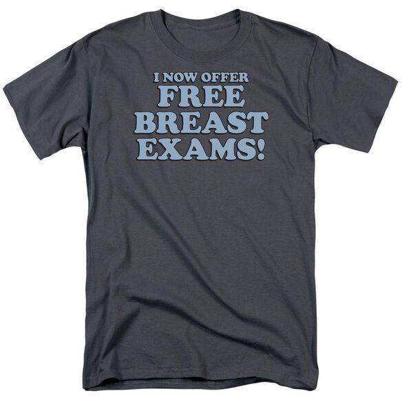 Free Breast Exams Short Sleeve Adult T-Shirt