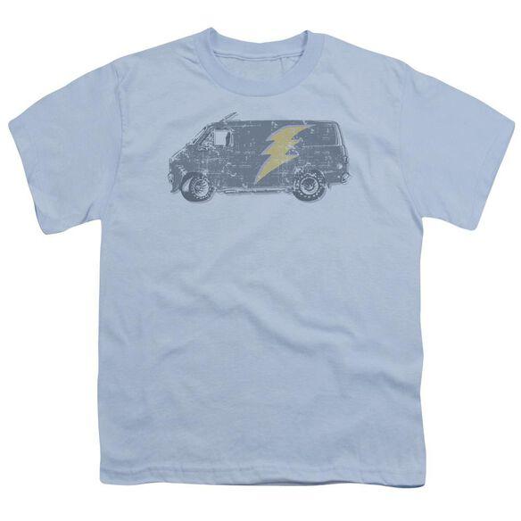 Lightening Van Short Sleeve Youth Light T-Shirt