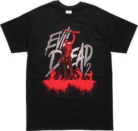 Evil Dead 2 Blu-Ray Cover Blood Drip T-Shirt