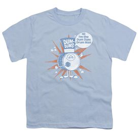 Dum Dums Drum Man Short Sleeve Youth Light T-Shirt