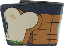 Bravest Warriors Jelly Kid Bread Wallet