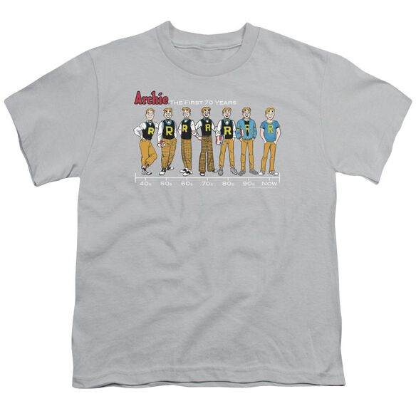 Archie Comics Archie Timeline Short Sleeve Youth T-Shirt