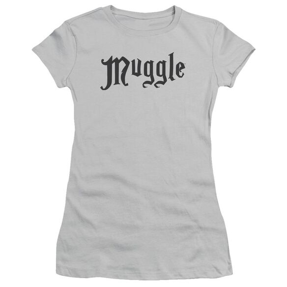 Harry Potter Muggle Short Sleeve Junior Sheer T-Shirt