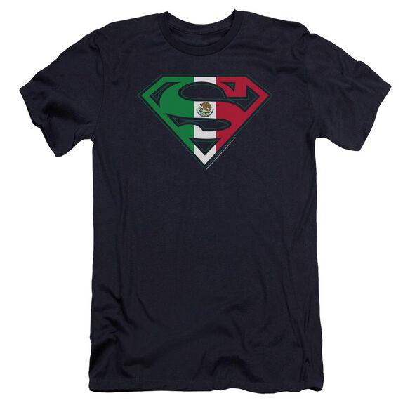 Superman Mexican Shield Premuim Canvas Adult Slim Fit