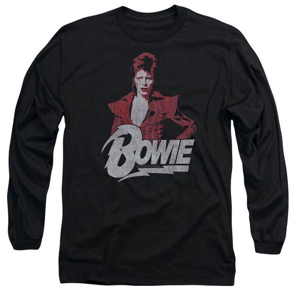David Bowie Diamond David Long Sleeve Adult T-Shirt