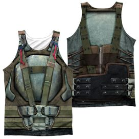 Dark Knight Rises Bane Costume (Front Back Print) Adult 100% Poly Tank Top