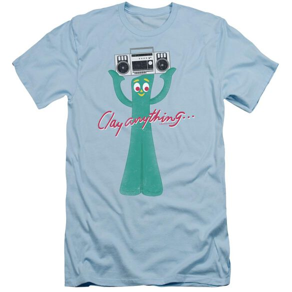 Gumby Clay Anything Short Sleeve Adult Light T-Shirt