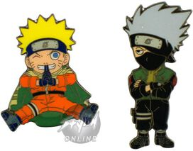 Naruto Kakashi Pin Set