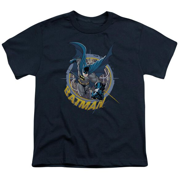 Batman In The Crosshairs Short Sleeve Youth T-Shirt