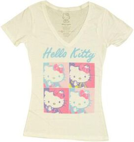Hello Kitty Squares Baby Tee