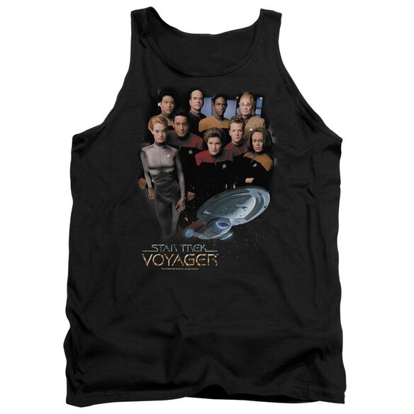 Star Trek Voyager Crew Adult Tank