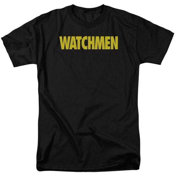Watchmen Logo Short Sleeve Adult T-Shirt