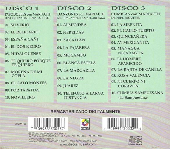 Coleccion De Oro(3 Cd)0804