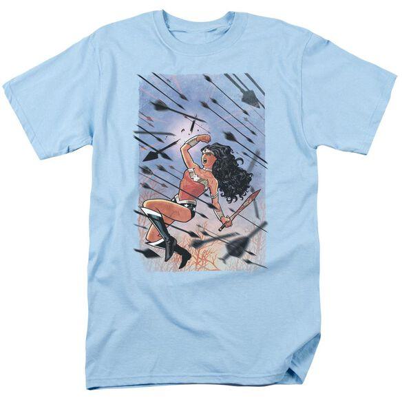 Jla Wonder Woman #1 Short Sleeve Adult Light T-Shirt