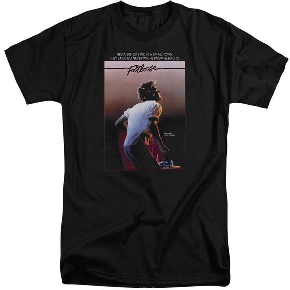 Footloose Poster Short Sleeve Adult Tall T-Shirt