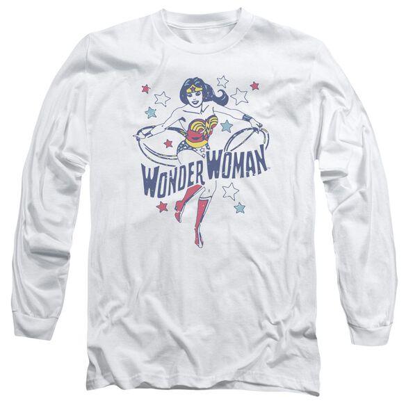 Dc Wonder Stars Long Sleeve Adult T-Shirt