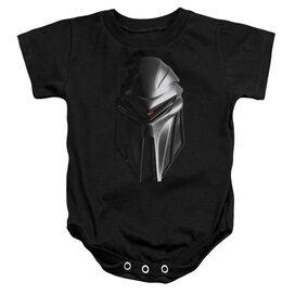 Bsg Cylon Head Infant Snapsuit Black