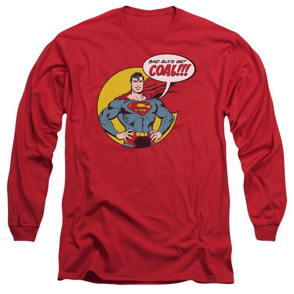 Dc Coal Long Sleeve Adult T-Shirt