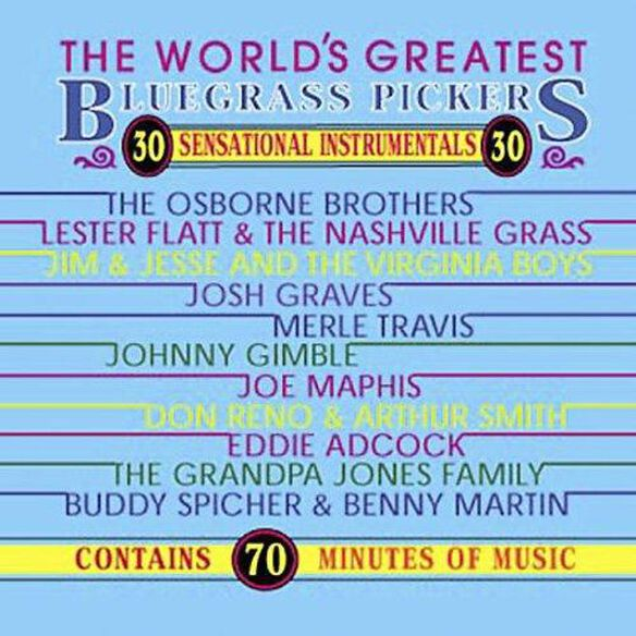 World's Greatest Bluegrass Pickers / Various