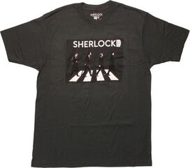 Sherlock Men Crossing Abbey Road T-Shirt