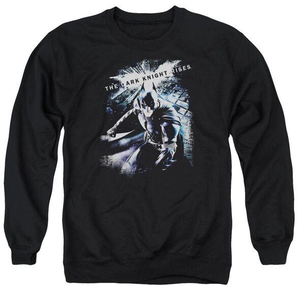 Dark Knight Rises More Than A Man Adult Crewneck Sweatshirt