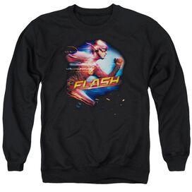 The Flash Fastest Man Adult Crewneck Sweatshirt