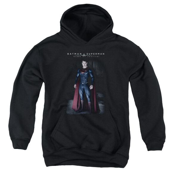 Batman V Superman Stand Tall Youth Pull Over Hoodie